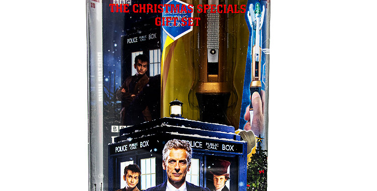 Sci-Fi Dr Who The Christmas Specials DVD and 12th Doctor Sonic Screwdriver