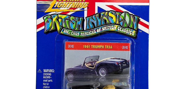 Johnny Lightning British Invasion 1961 Triumph TR3A