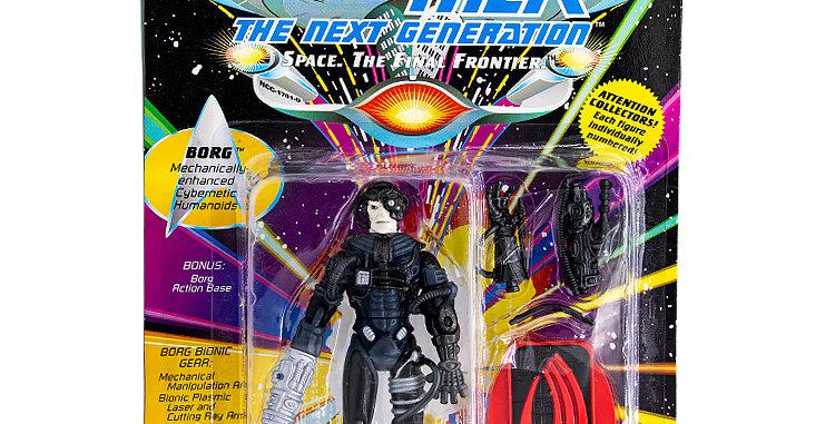 Star Trek Action FIgure Borg  Playmates Toy