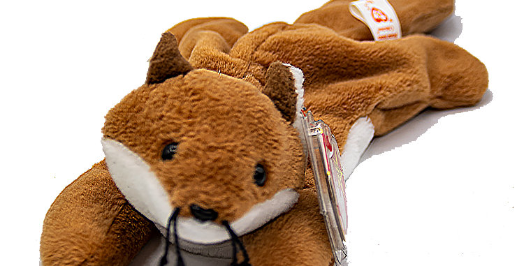 Beanie Babies Bucky the Beaver Beanie Baby
