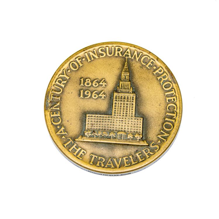 Travelers Insurance Medallion side 2