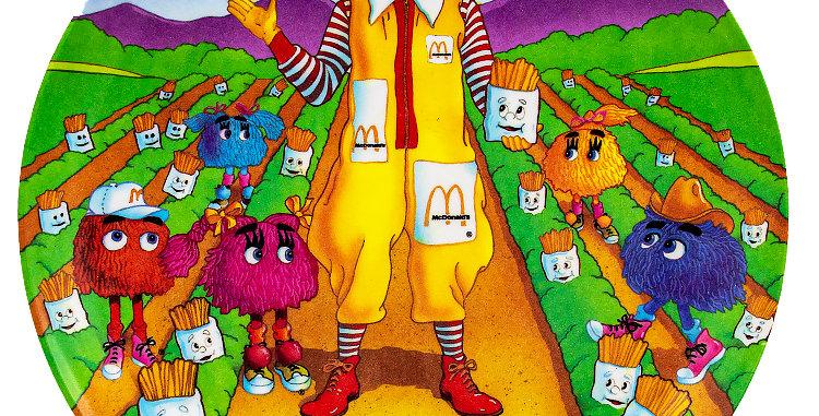 McDonalds Ronald McDonald Plate