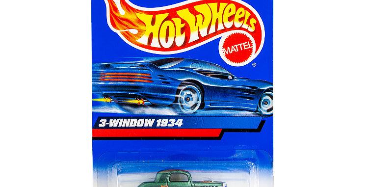 Hot Wheels 3 Window 1934  marked 1998