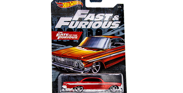 Hot Wheels Fast and Furious Chevy Impala