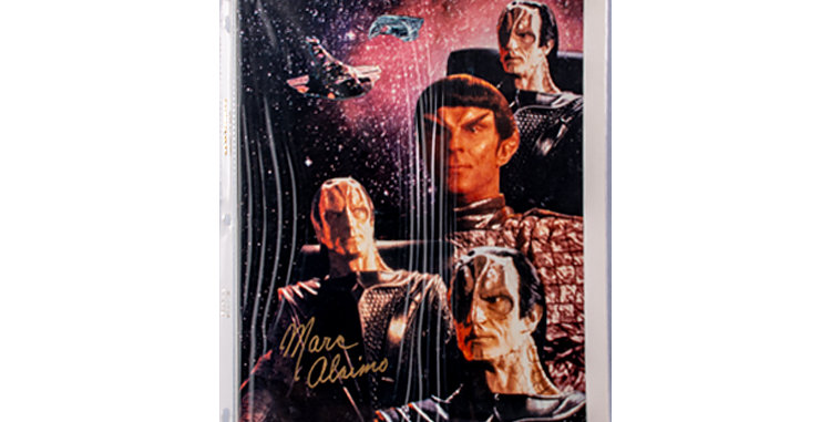 Autograph of Marc Alaimo who played Gul Dukat