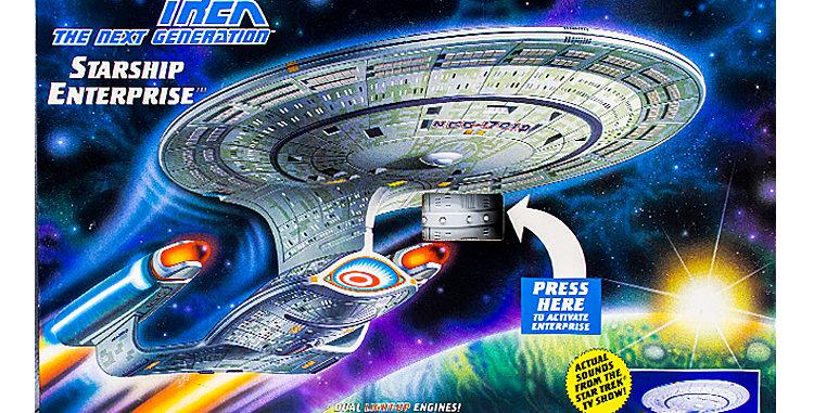 Star Trek The Next Generation Star Ship Enterprise Space Ship
