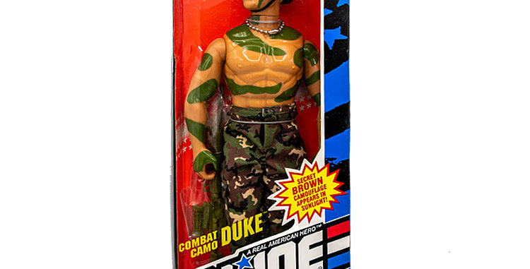 GI Joe Hall of Fame  12 Inch Combat Camo Duke