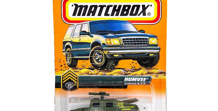 Matchbox Cars Hummvee Marked 1998