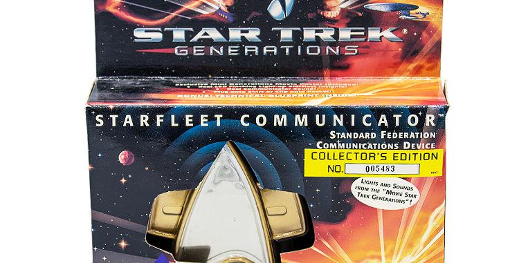 Star Trek Generations Movie  Communicator Toy Prop