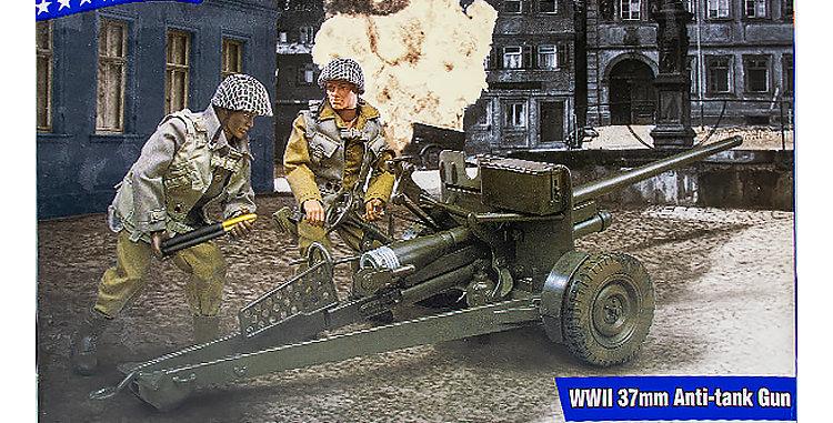 GI Joe 12 Inch WWII 37 MM Anti-Tank Gun