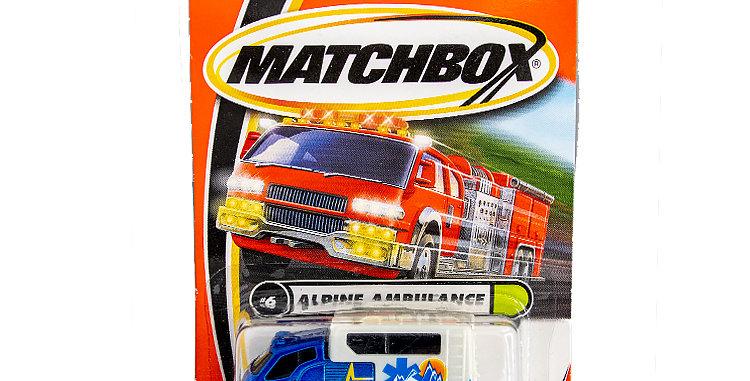 Matchbox Cars Alpine Ambulance  Marked 2000