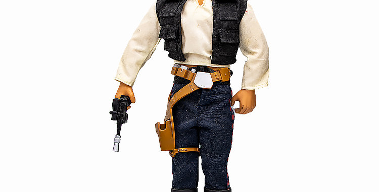 Star Wars 12 Inch  Han Solo Action Figure