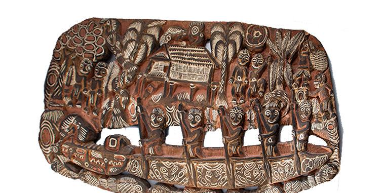 New Guinea Art Storyboard