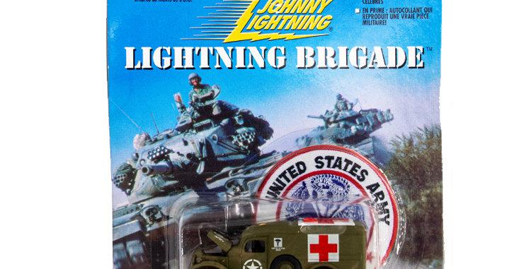 Johnny Lightning Lightning Brigade Ambulance