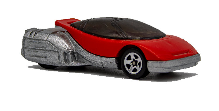 Hot Wheels Loose Red Rocket