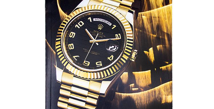 Retro Watches Rolex Hard Cover Catalog circa 2010