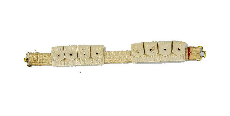 GI Joe Vintage White Belt