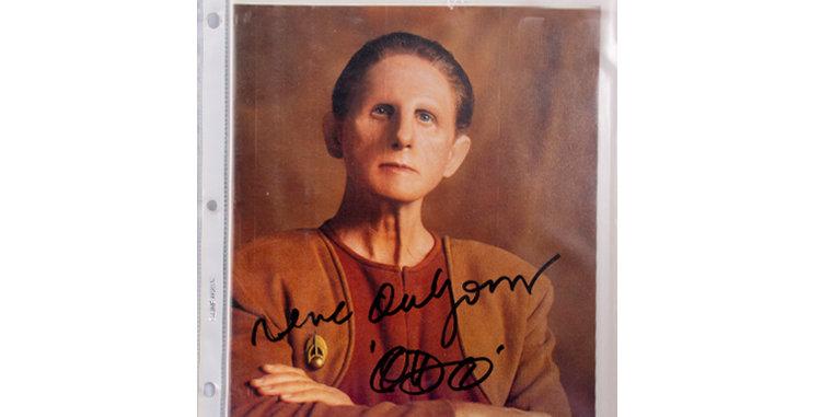 Autograph René Auberjonois who Played Odo