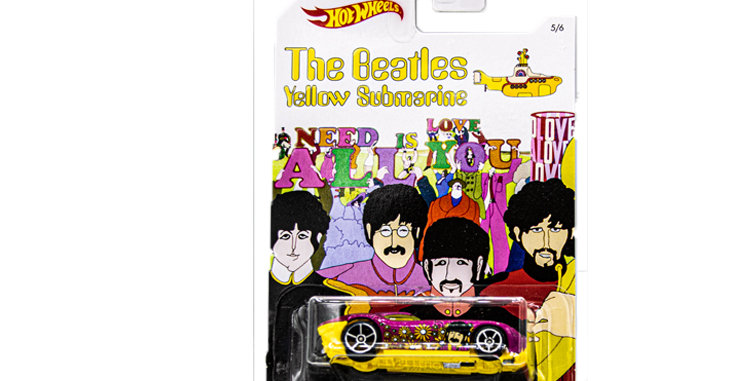 Beatles Hot Wheels 1 1/64 Scale