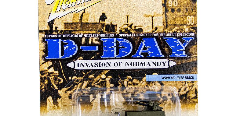 Johnny Lightning D-Day Anti-Aircraft Halftrack