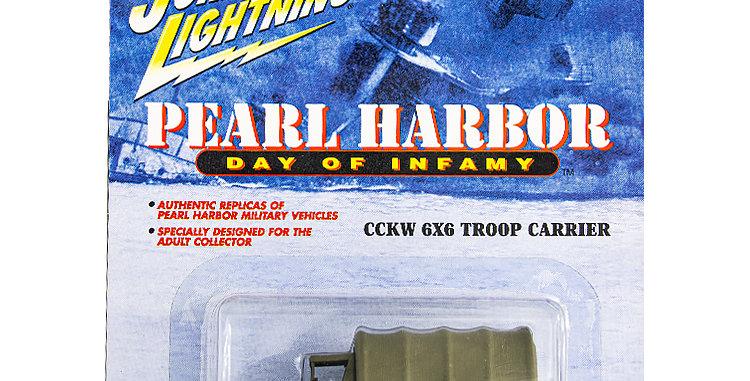 Johnny Lightning Car Pearl Harbor CCKW 6X6 Troop Carrier