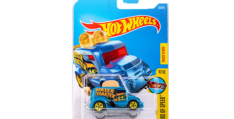 Hot Wheels Legend of Speed Roller Toaster
