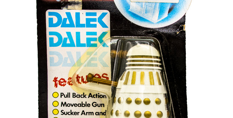 Sci-Fi 3.75 Inch Dr Who Dalek