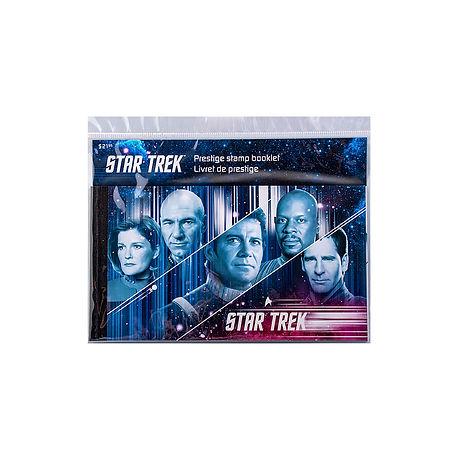 Stamp Canada Star Trek Prestige Stamp Bo