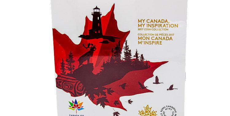 Canada 2017 150 Year Anniversary Coin set