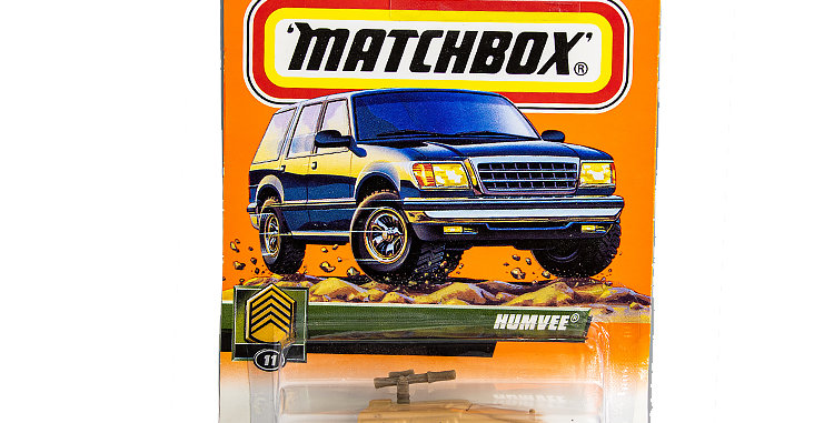 Matchbox Cars Hummvee B Marked 1998