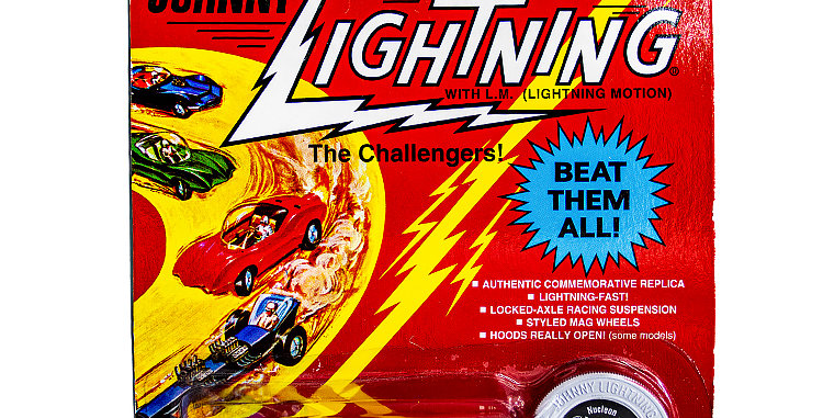 Johnny Lightning Car Commemorative Custom Nucleon