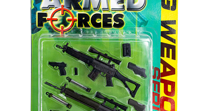 Armed Forces 12 Inch SIG Weapons Series 1