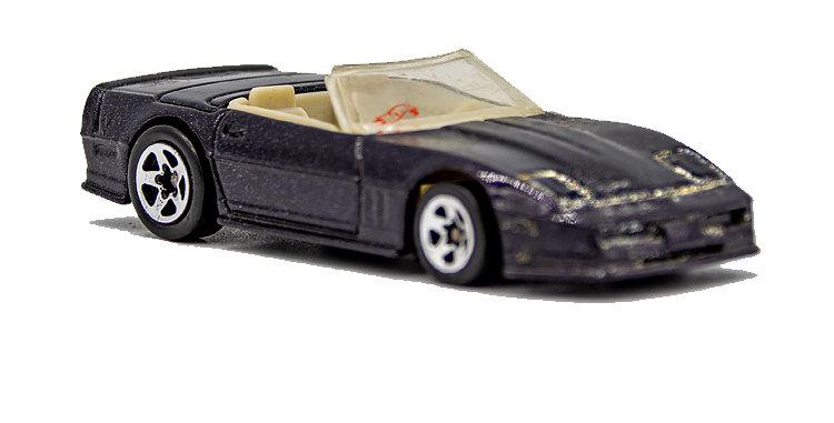 Hot Wheels Loose Black Convertable