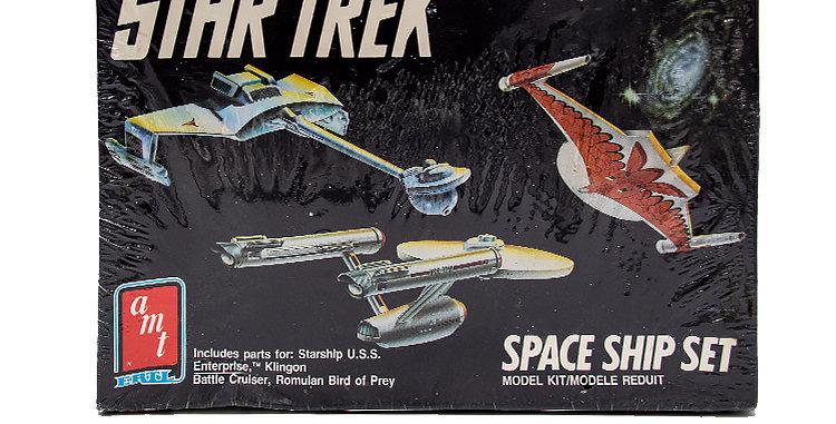 Star Trek  Model Space Ship Set AMT ERTL
