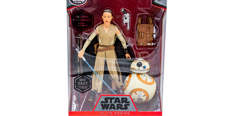 Elite Series Die Cast Rey and BB8