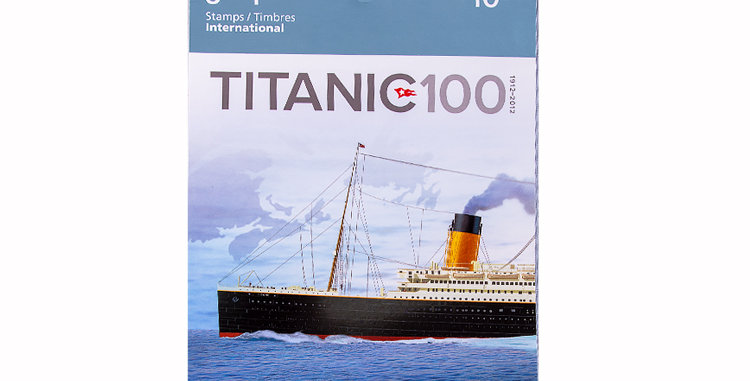 Canada Post Commemorate 100 year anniversary of the sinking of the Titanic