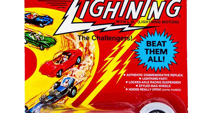 Johnny Lightning Car Commemorative Custom Tripile Threat