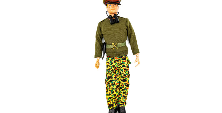 GI Joe VIntage Action Man Army Officer