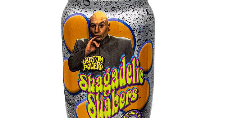 Sci-Fi Austin Powers Shagadelic Shakers Long Island Iced Tea Drink Canister
