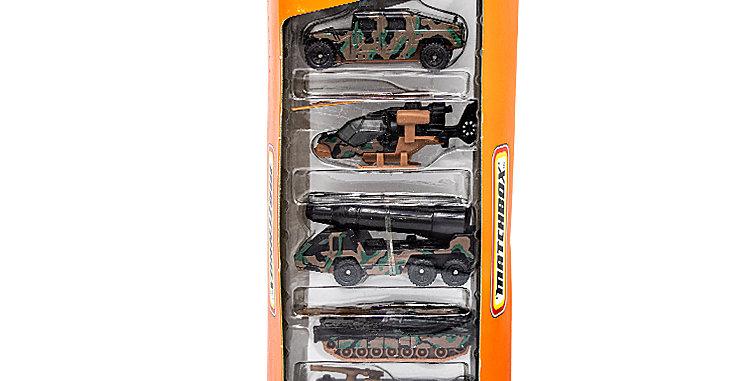 Matchbox set of 5 Military Cars