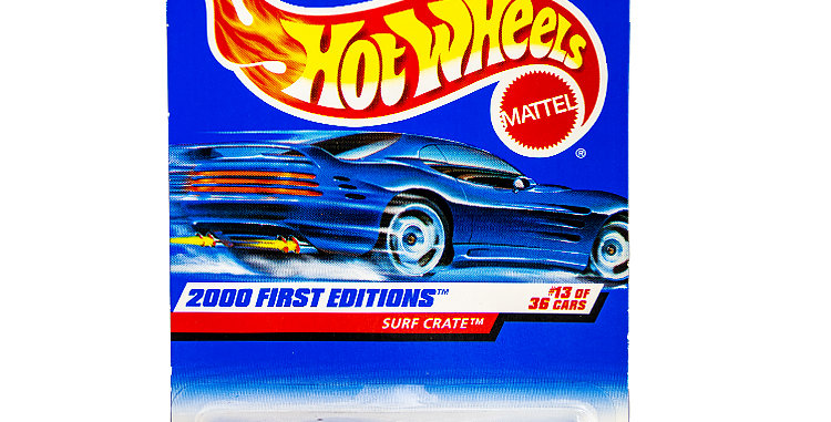 Hot Wheels  2000 First Editions Surf Crate 1.jpg