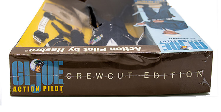 GI Joe Crew Cut Action Pilot Empty Box