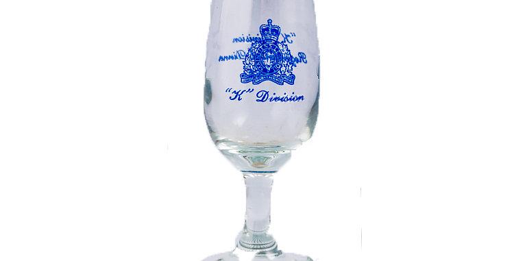 Glass Wine RCMP