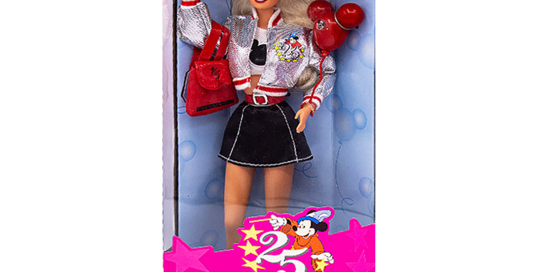 Barbie 25th Anniversary Disney