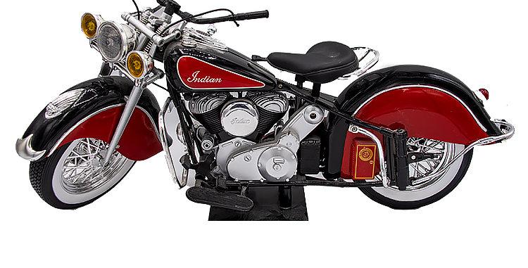 12 Inch GI Joe Scale Indian Motorcycle