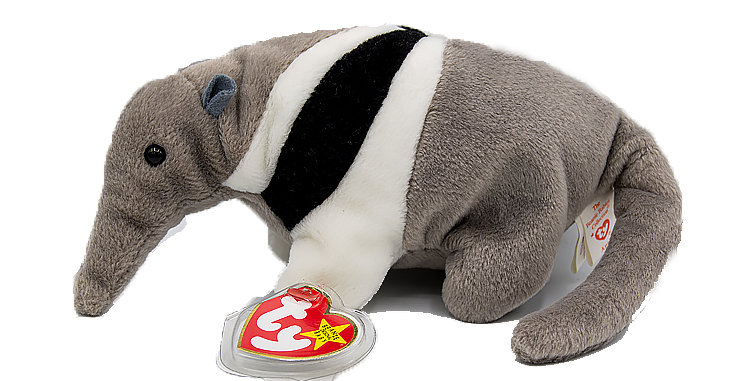 Beanie Babies Ants the Anteater Beanie Baby