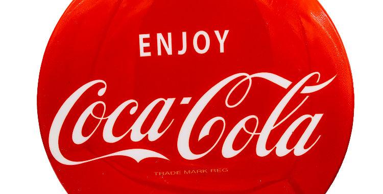 Coca Cola Coke Button Bar Stool Top
