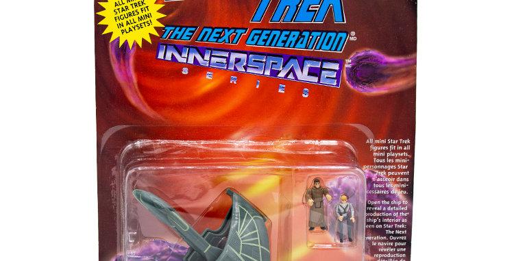 Star Trek Inner Space Romulan Ship Playmates Toy