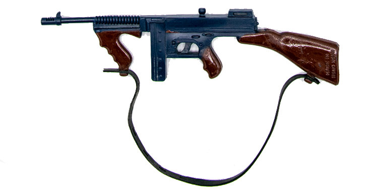 GI Joe Vintage Action Man Tommy Gun