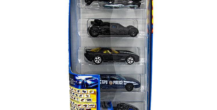 Batman Hot Wheels Set of 5 Cars